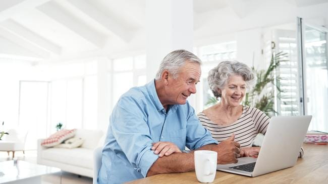 Generic photo of a retired senior couple. Picture: iStock pension / pensioner / superannuation