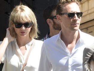 Taylor Swift is seen with her new boyfriend Tom Hiddleston having