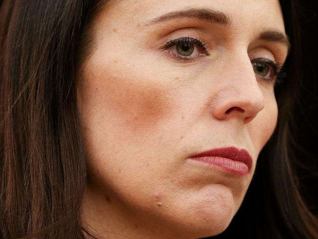 WELLINGTON, NEW ZEALAND - OCTOBER 20:  Labour leader and prime minister-elect, Jacinda Ardern, speaks to media during a post-caucus meeting press conference at Parliament on October 20, 2017 in Wellington, New Zealand. After weeks of negotiations, New Zealand First leader Winston Peters yesterday announced his party's plans to back a Labour-led government, making Jacinda Ardern New Zealand prime minister-elect.  (Photo by Hagen Hopkins/Getty Images)