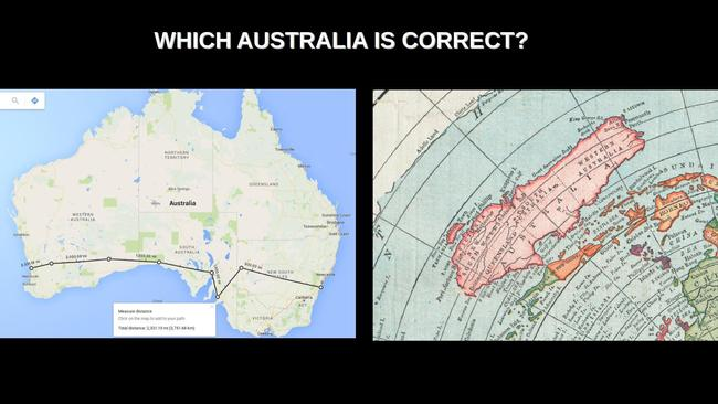 Flat earth why theory has had a resurgence which map of australia do you think is correct gumiabroncs Gallery