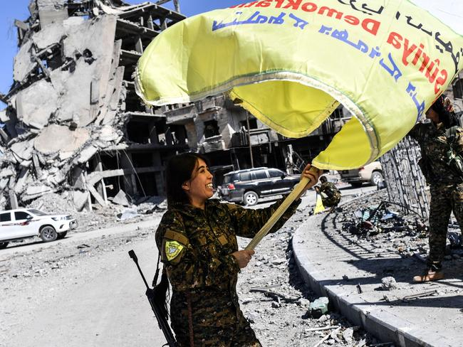 US-backed Iraqi forces have taken control of Iraq. Picture: AFP