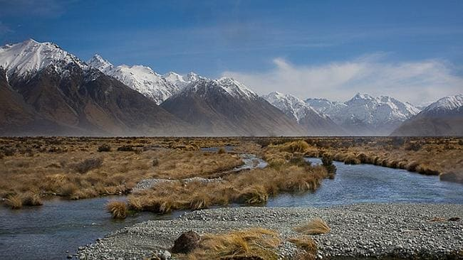 Not a bad view at all at Edoras. Picture: Flickr Zac Hodgson