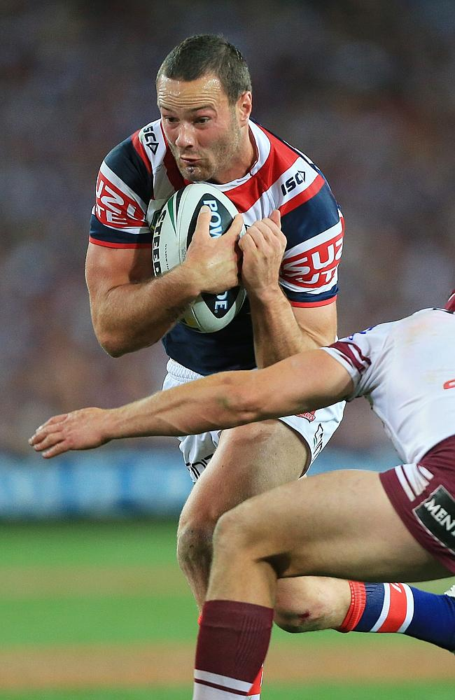 Young Rooster Boyd Cordner in action during the 2013 NRL Grand Final.
