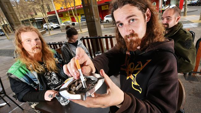 laws to outlaw smoking in outdoor dining areas geelong advertiser