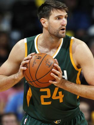 Withey is currently playing for the Jazz in the NBA playoffs.