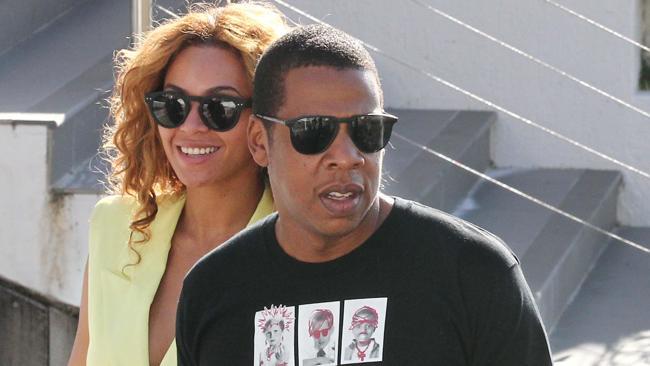 Beyonce and husband Jay-Z.
