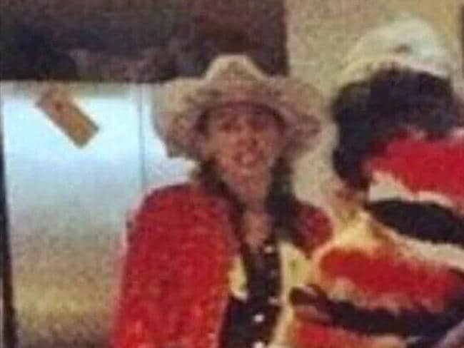 A grainy image of Cyrus at the Hemsworth New Year's Eve party. Source: INSTAGRAM