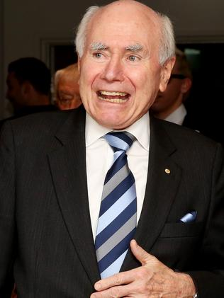 Former Prime Minister John Howard visited Israel in 2000. Picture: Supplied