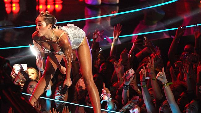 Miley Cyrus owned the MTV Video Music Awards. Picture: Supplied