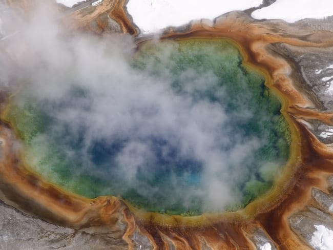 The behaviour of an active super volcano in the Yellowstone National Park in the US have been causing concern lately.