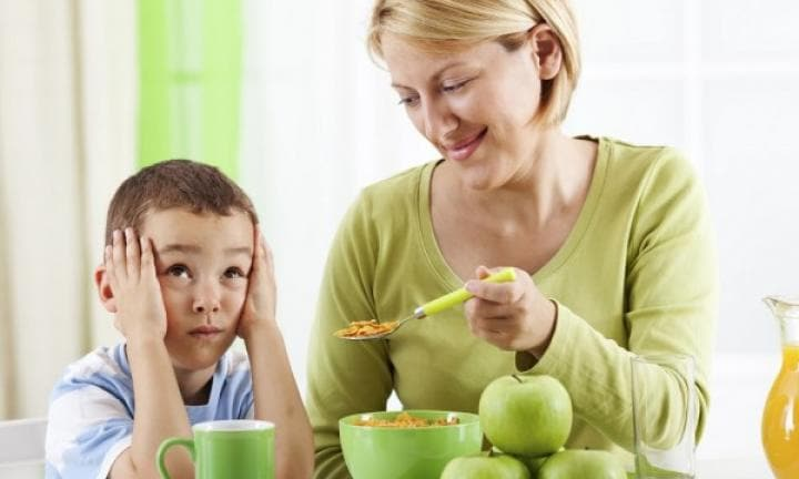 Signs your fussy eater is doing fine
