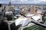 Adelaide Festival Centre CEO's vision for a Federation-square style update for the Festival Centre plaza. Picture: Supplied