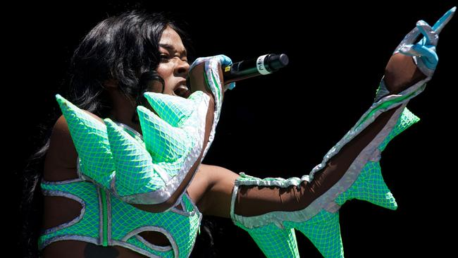 Azealia Banks has criticised Iggy Azalea for appropriating black culture. Picture: AFP