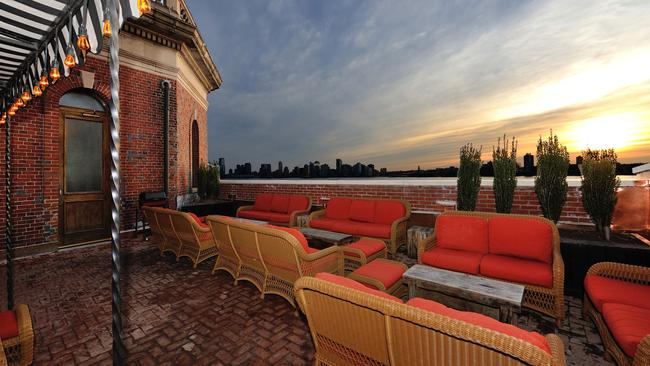 """The view from the Jane Hotel rooftop.  <a capiid=""""8bf7e16ac124bb50eba3c859758fb838"""" class=""""capi-video"""">The most lavish hotel perks we could find</a>"""