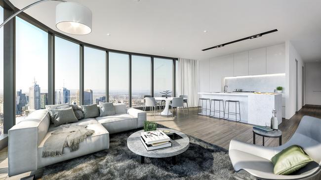 Australia 108 Unveils New Sub Penthouses After Record 25 Million Sale