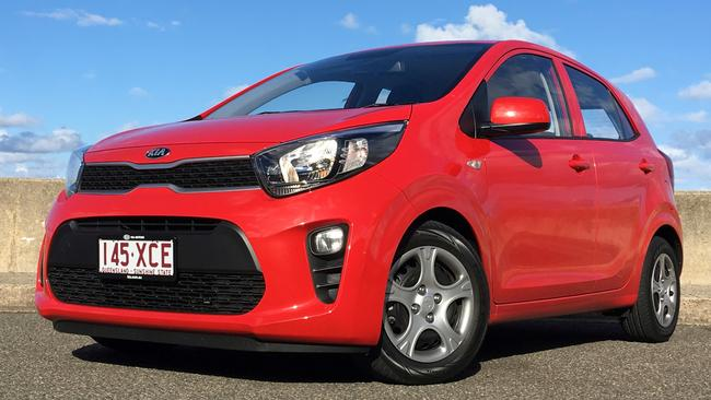 The Kia Picanto is a better buy — if the budget stretches that far. Picture: Joshua Dowling.