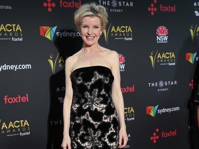 "He recounted how he accidentally ""sodomised"" Romper Stomper co-star Jacqueline McKenzie, pictured at the event. Picture: Richard Dobson"