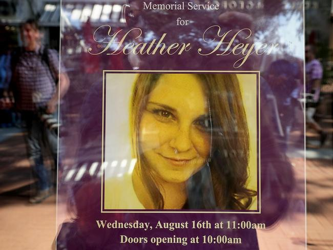 Heather Heyer's mother won't talk to Donald Trump after 'what he said about my child'. Picture: Supplied.