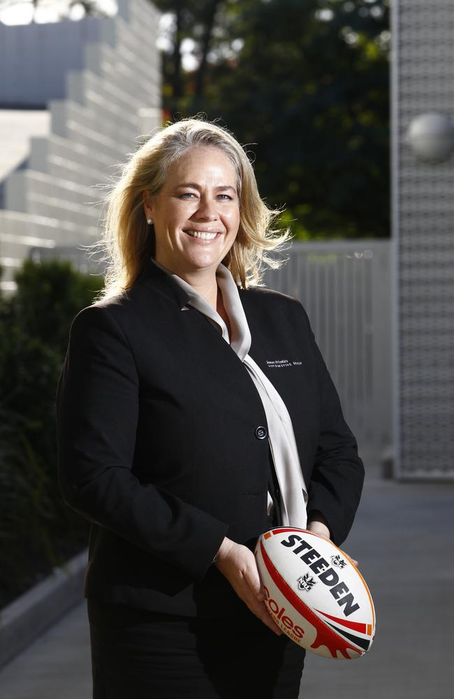 Rebecca Frizelle is the new chairman of the Titans. Picture: Kit Wise