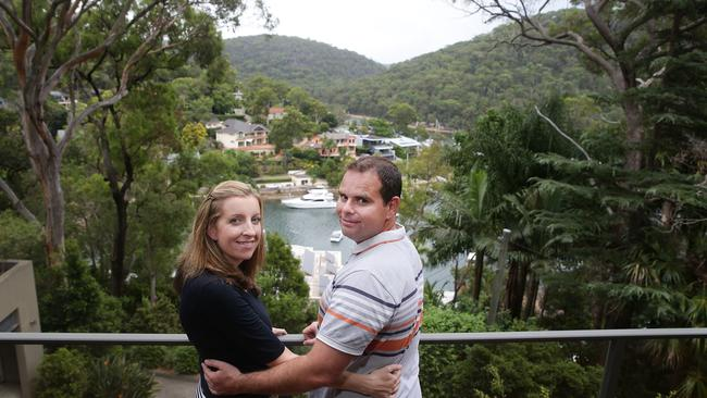 Adrian and Lesley Simmonds are selling up in Pittwater.