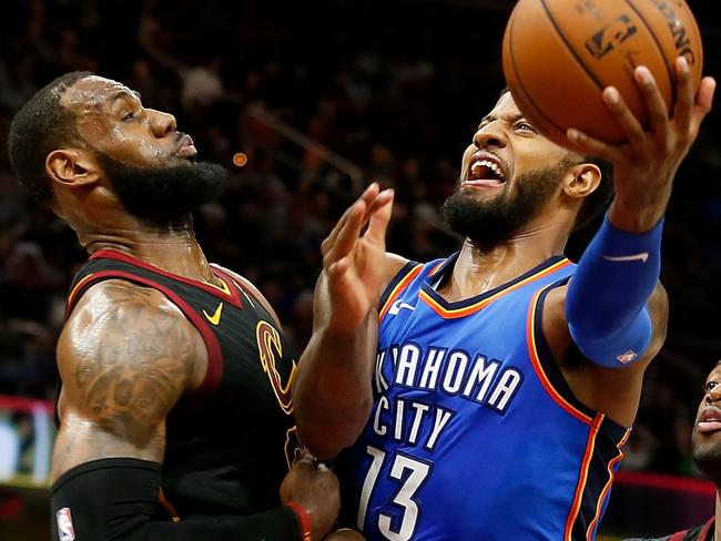 nba wrap  lebron james crushed by thunder  enes kanter