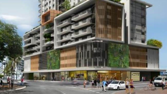 Proposed Apartment Block On Corner Of Daly St And Smith St