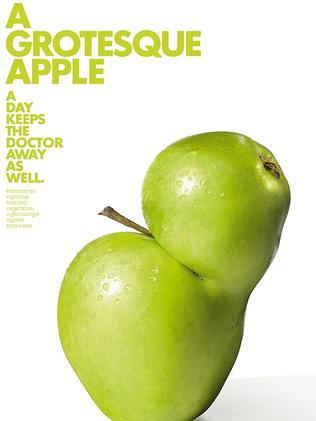 Ever grown a double apple like this? Picture: Intermarche