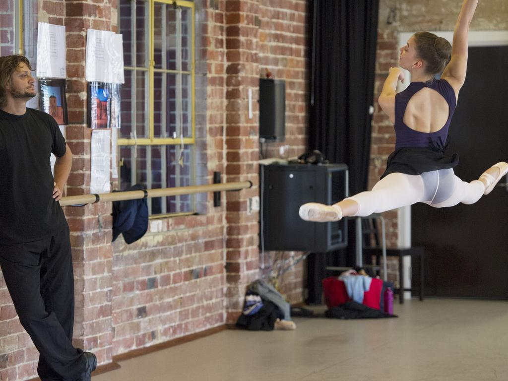 The WA Ballet company has been nominated for three Helpmann Awards, which will be held in Sydney this week. Picture: Stewart Allen.