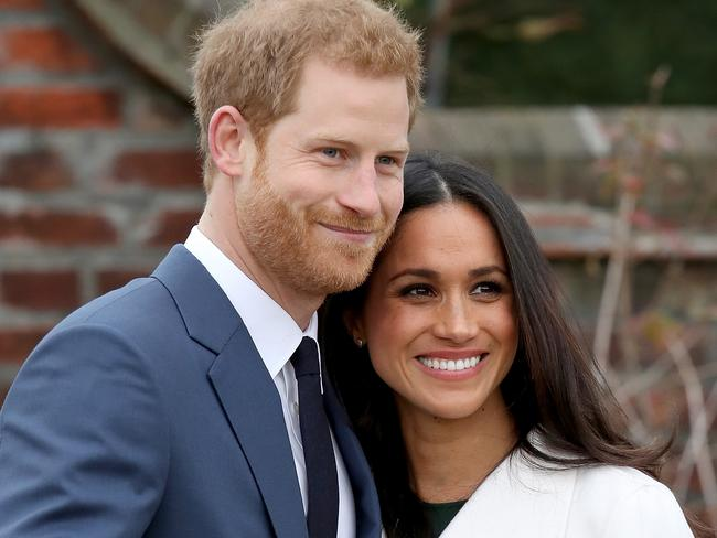 Prince Harry and actor Meghan Markle are expected to focus on global activities. Picture: Chris Jackson/Chris Jackson/Getty Images.