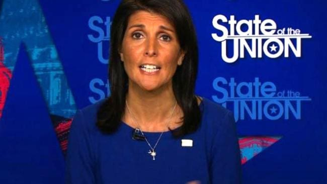 Nikki Haley on State of the Union.