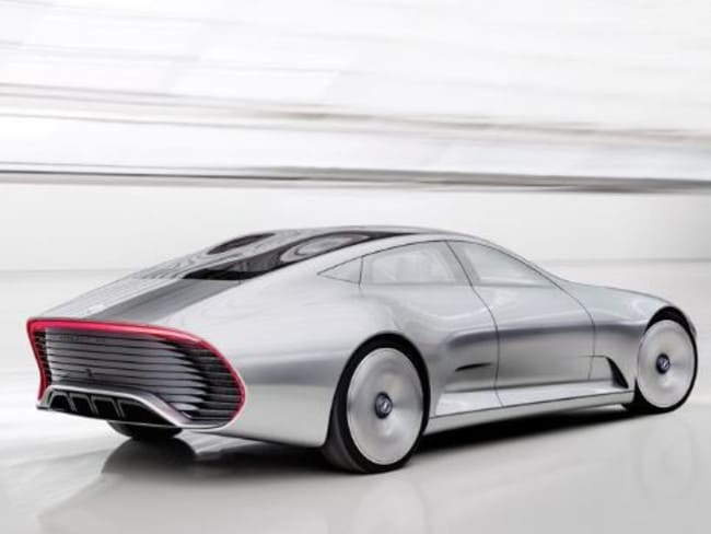 Mercedes benz concept car at frankfurt motor show 2015 for Mercedes benz maker