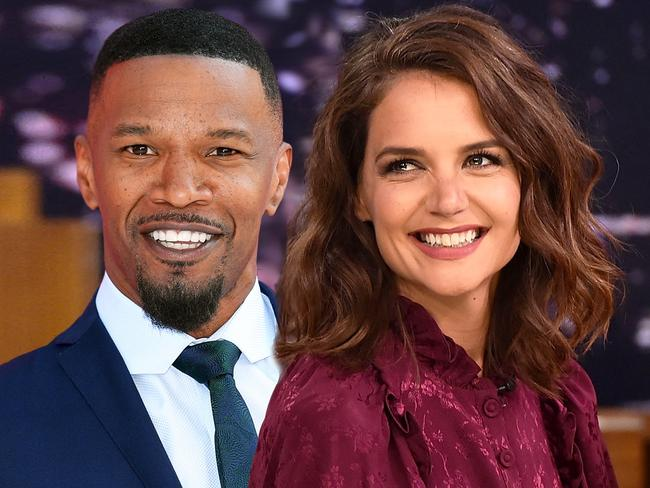 Composite image of Jamie Foxx and Katie Holmes, who have been romantically linked since 2013. Picture: Getty