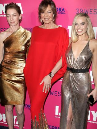 Julianne Nicholson, Allison Janney and Margot Robbie. Picture: Splash
