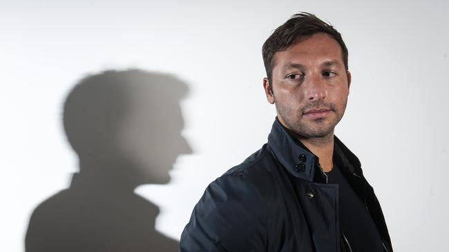 Out and proud ... swimming champ Ian Thorpe / Picture: Tom Jenkins
