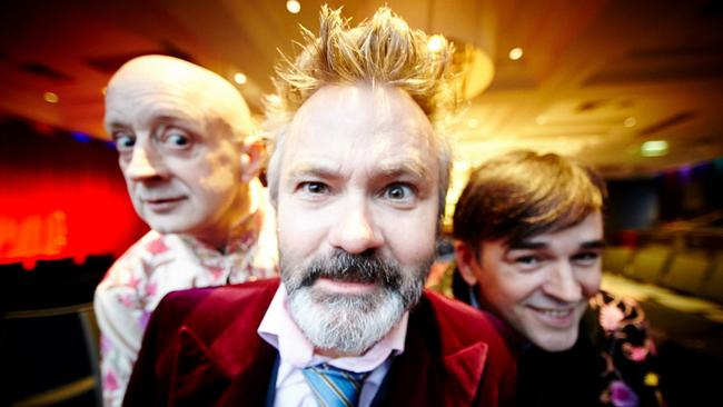 Future plans ... Paul McDermott says he would love to do another political show.