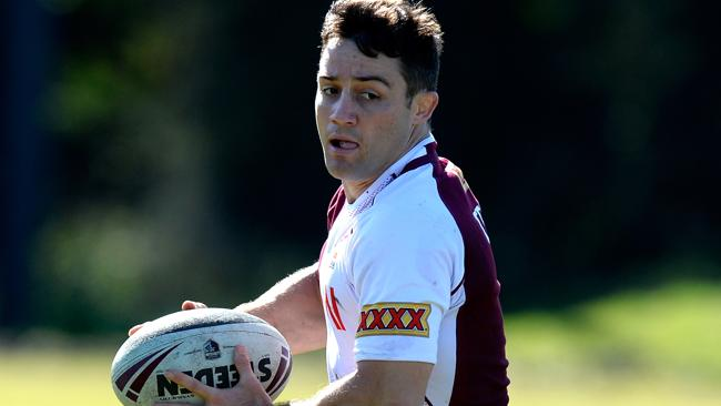 Queensland player Cooper Cronk (Photo by Bradley Kanaris/Getty Images)