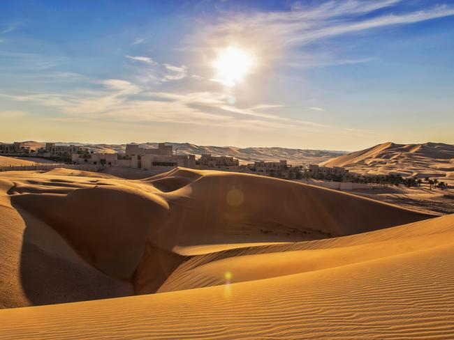 Rub' Al Khali Desert, Abu Dhabi. Picture: Supplied