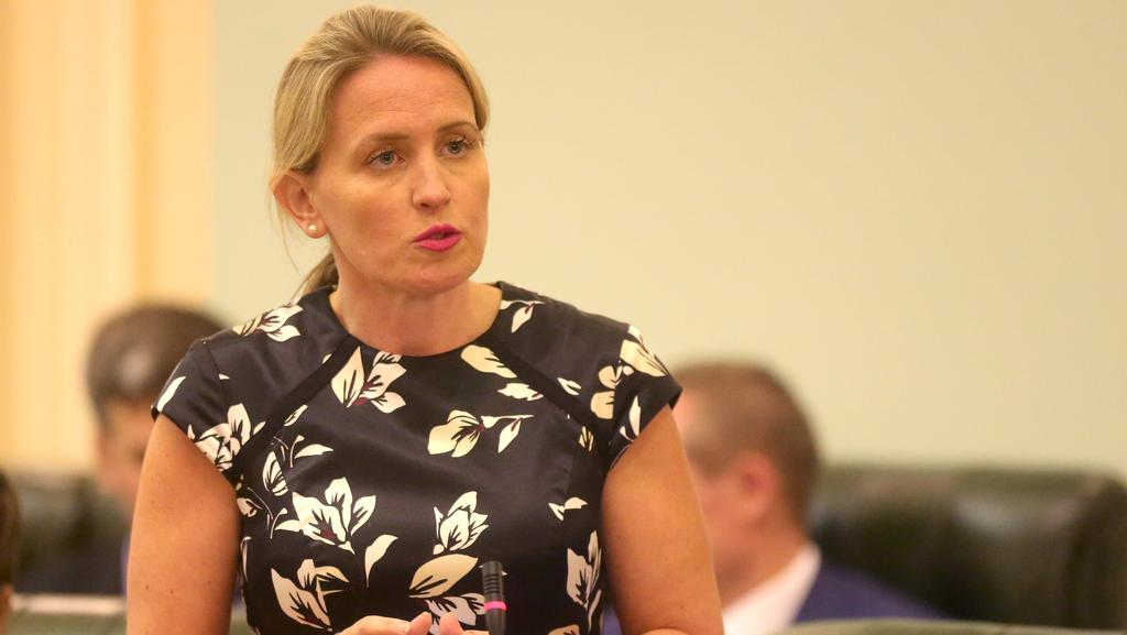Education Minister Kate Jones says thousands of teachers have returned to study under a State Government scheme to 'upskill' . Picture: Jono Searle