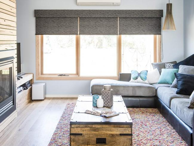House rules first renovation reveal for bronik and corrine for Living room channel 7