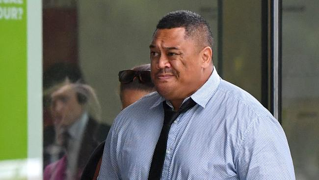 Tamate Heke was found guilty of unlawful striking causing death following his altercation with Shane Merrigan. Picture: AAP Image/Darren England.