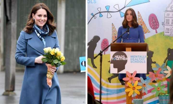 The Duchess of Cambridge launches new mental health website for schools