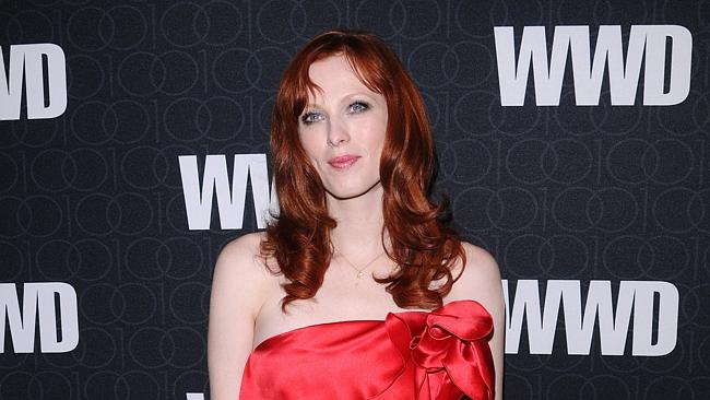 Model Karen Elson and her ex-husband and White Stripes frontman Jack White threw a divorce party when they separated in 2011. Photo: AP Photo/Peter Kramer