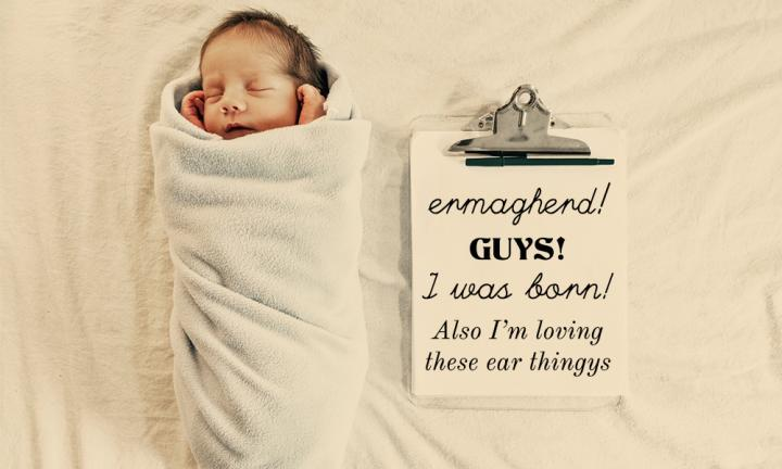 10 adorable Instagram birth announcements Kidspot – Birth Announcement Cards Australia
