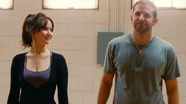 Silver Linings Playbook Bradley Cooper Jennifer Lawrence