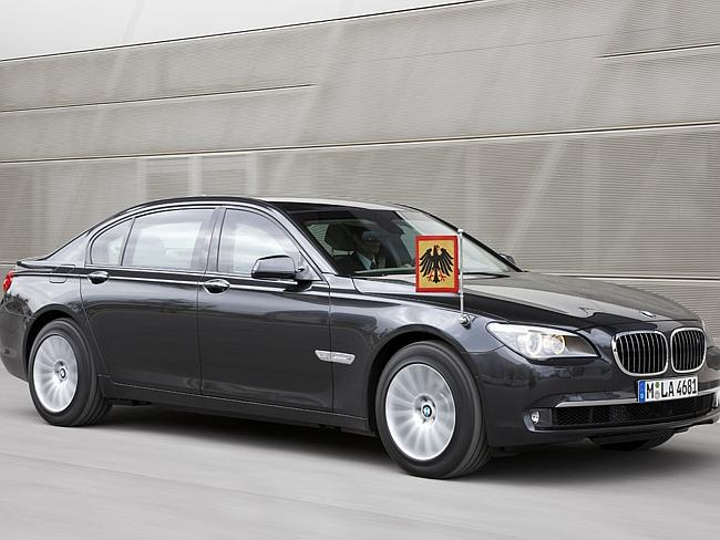 The BMW high-security vehicle / Picture: Supplied