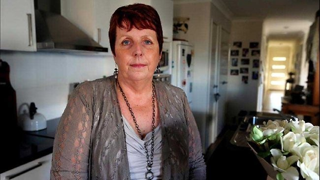 Wendy Coleman who lives alone, was diagnosed with dementia at 50. Photo: David Kelly