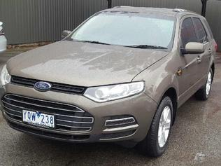 The Ford Territory stolen from the Thomastown home.