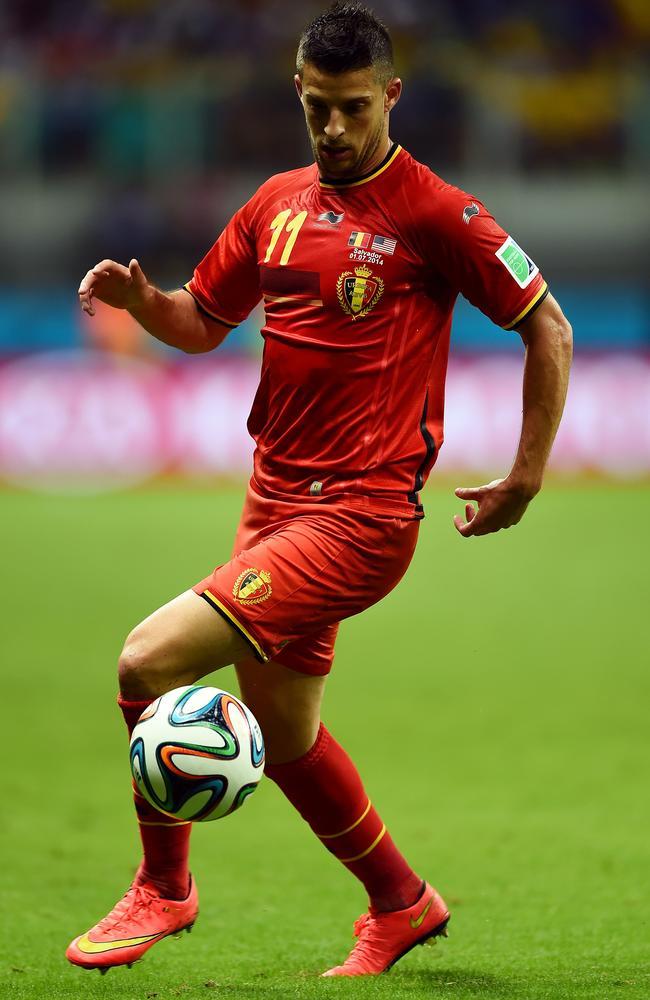 Kevin Mirallas of Belgium.