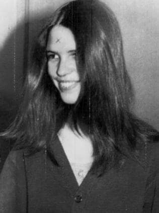 Leslie Van Houten in 1970. Picture: Supplied