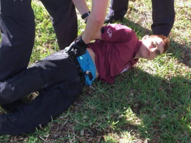 Nikolas Cruz has been charged with the premeditated murder of 17 people. Picture: Supplied